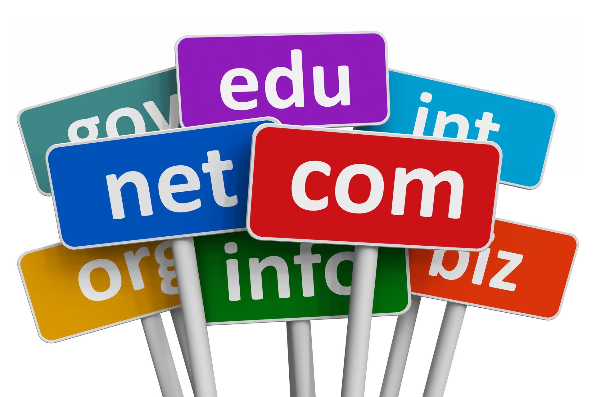 Основные ошибки при выборе домена